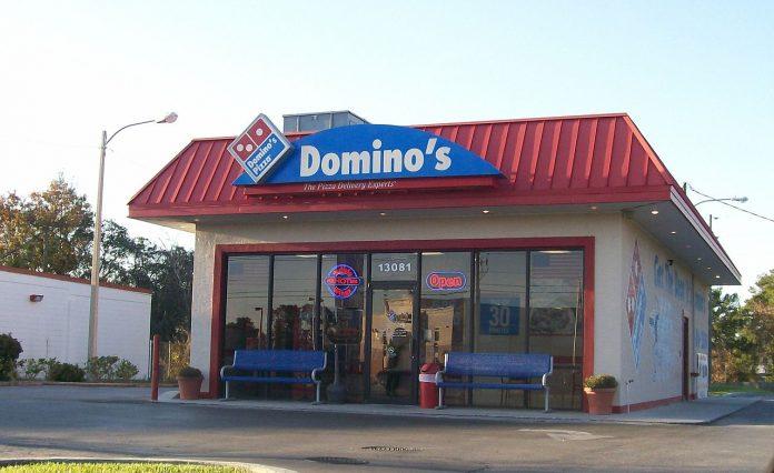A rede de pizzaria Domino's é uma das maiores do mundo nas vendas em varejo (Foto: Wikipedia)