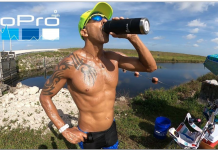 O ultra-atleta brasileiro Alessandro Medeiros
