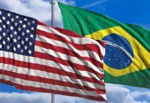 A Embaixada americana em Brasília desencorajou o desembarque de estrangeiros no Brasil, mesmo após a reabertura dos aeroportos (foto: wikimedia)