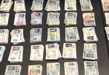 Carteiras falsas interceptadas pelo CBP em Chicago (Customs and Border Protection )