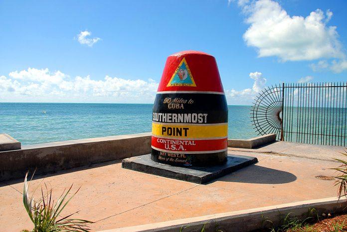 Ponto mais extremo ao Sul da Flórida (Foto: PIxy.org)