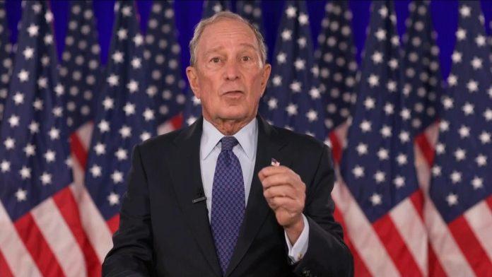 O ex-prefeito de New York e ex-candidato presidencial Democrata, Mike Bloomberg (foto: bloomberg.com)