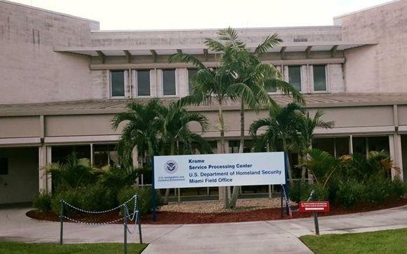 Krome North Service Processing Center em Miami (foto: ICE)