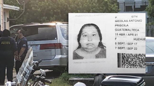 Os agentes divulgaram o nome da proprietária da Van como sendo Priscila Nicolas Antonio, 39 anos (foto: WPBTV)