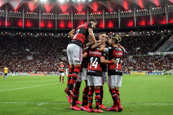 Flamengo despacha Junior Barranquilla sem nenhum susto (Foto: cbf.com)