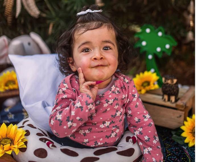 A pequena Júlia Cardoso Torres ( foto: instagram)