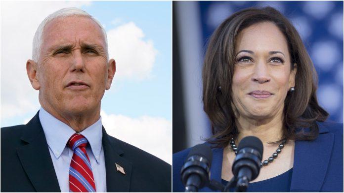 Kamala Harris e Mike Pence participam do único debate entre os candidatos à vice-presidência dos EUA (foto: pikasa)