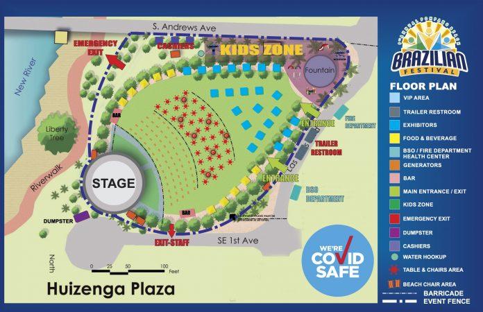 9ª edição do Brazilian Community Festival será realizado no Fort Lauderdale's Huizenga Park, nos dias 12 e 13 de dezembro