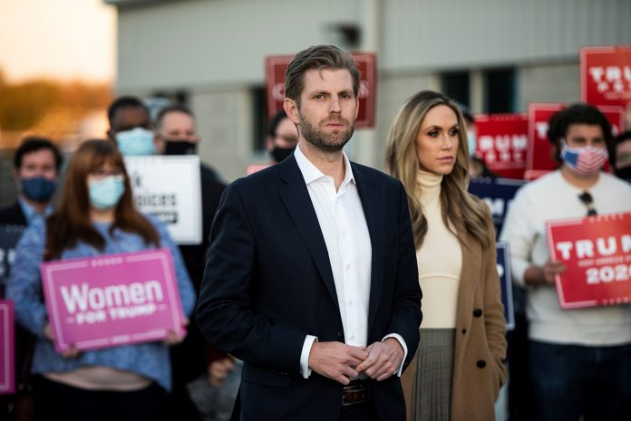 Eric Trump é o terceiro filho do candidato republicano (Foto: REUTERS/Mark Kauzlarich)