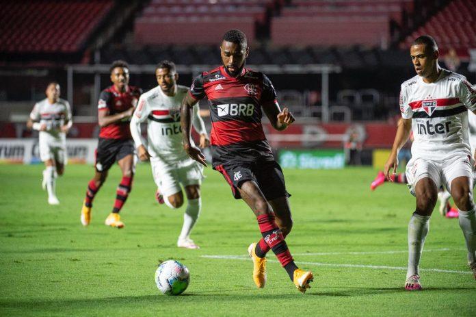 O craque Gerson não vem jogando bem pelo Flamengo, assim como toda equipe (Foto: Alexandre Vidal/Flamengo)