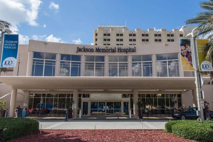 O Jackson Health System em Miami será um dos primeiros a receber a vacina (foto: JMH)