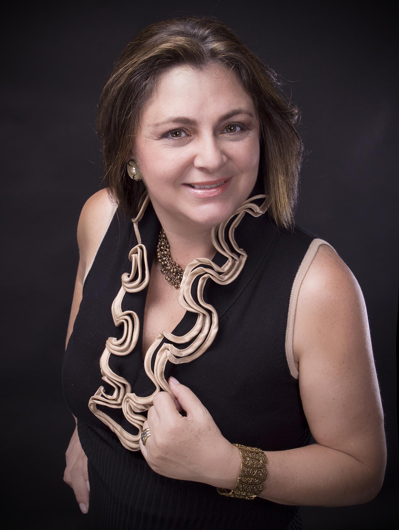 Vânia Amorim (presidente do Rotary Boca Raton West)