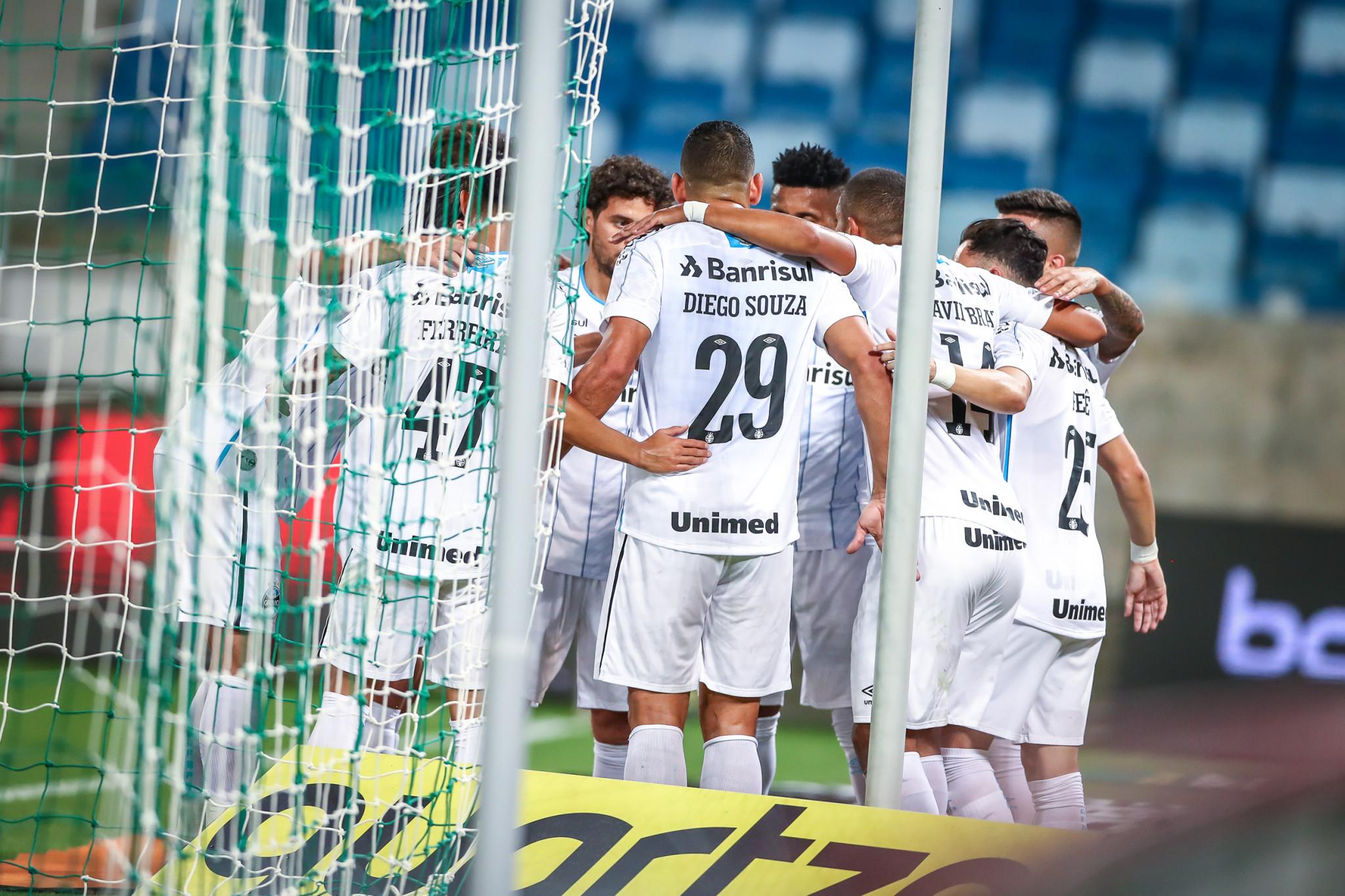 O time de Renato Portaluppi voltou a mostrar força em jogos decisivos (Foto: Grêmio Football PortoAlegrense)