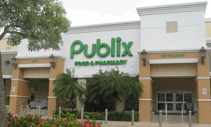 Até abril passado, o Publix não autorizava coberturas faciais pelos empregados do setor de delicatessen, carnes e frutos do mar (foto: wikimedia)