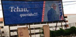 O outdoor está instalado na rua 7 de setembro, próximo ao GV shopping (foto: Rogério Maria Braga, Facebook)