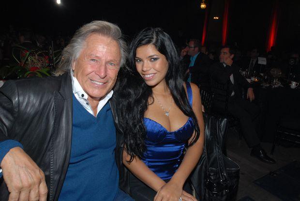 Suelyn Medeiros e o empresário Peter Nygard (foto: instagram)