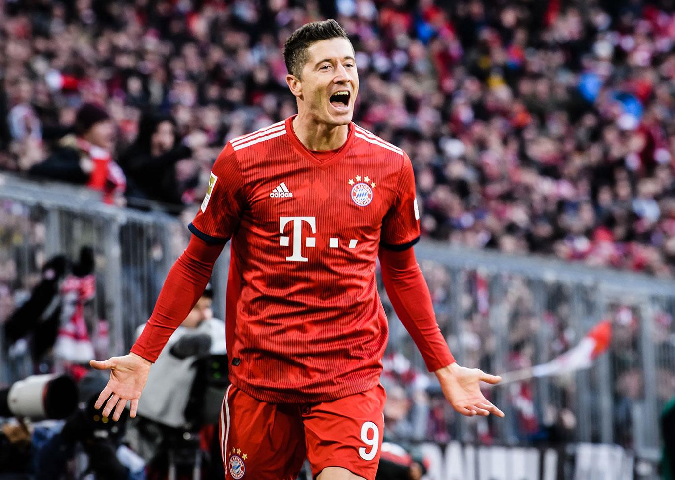 Robert Lewandowski foi eleito como o melhor jogador do mundo desta temporada (Foto: Bayern de Munique)