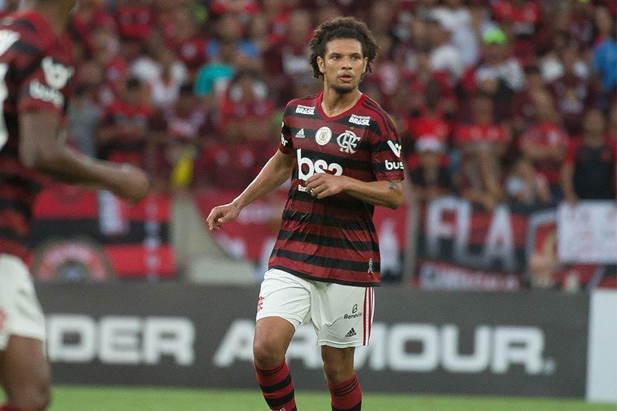 William Arão foi herói e vilão na desclassificação do Flamengo da Copa Libertadores da América (Foto: gaveanews.com)