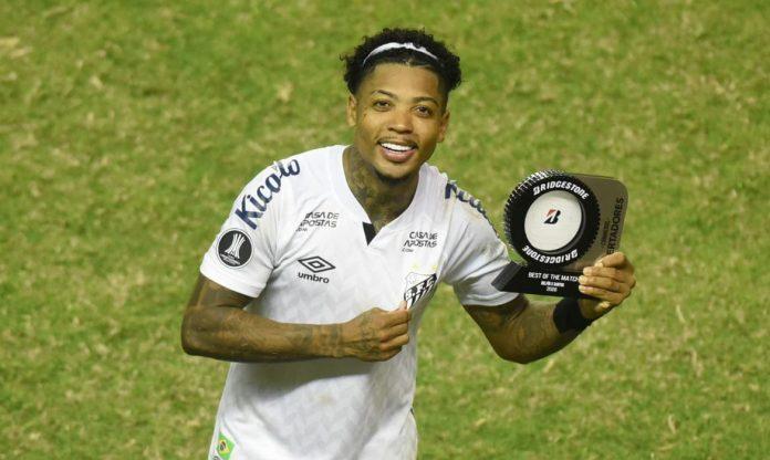 Marinho jogou mal assim como o restante da equipe santista, mas Santos se classificou (Foto: Agência Brasil)