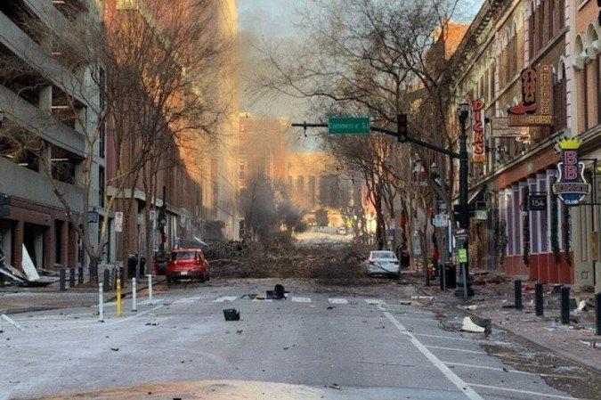 Nashville, capital do Tennessee (foto: Metro Nashville Police Department )