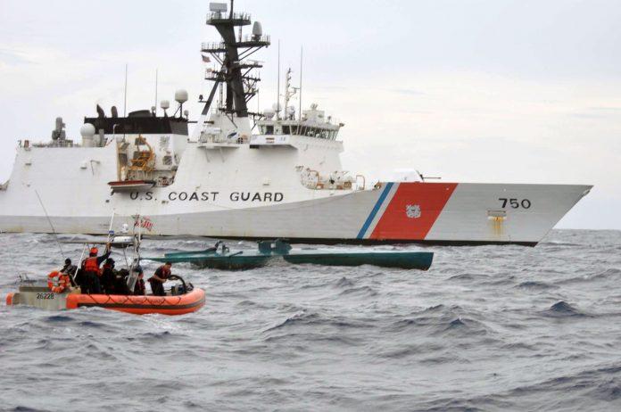 Acidente aconteceu próximo ao Rio Caloosahatchee em Fort Myers (foto: U.S Guard Coast)