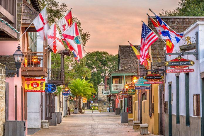 Saint Augustine, na Flórida, a cidade mais antiga dos EUA (Foto: Flickr)