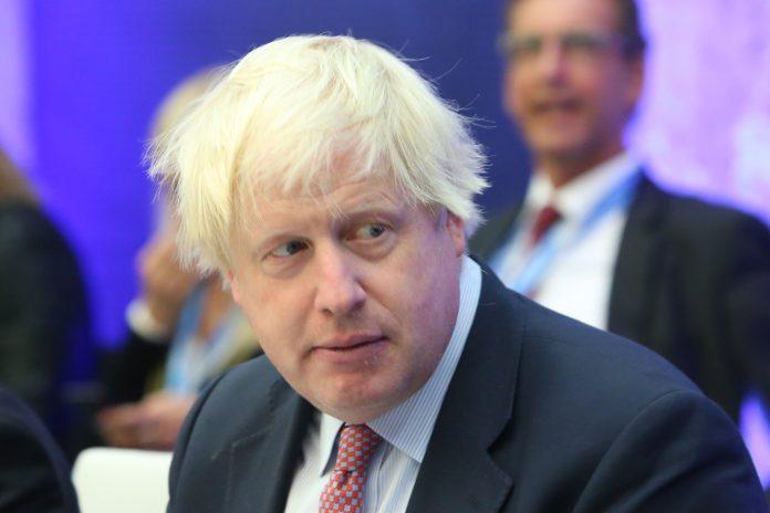 Primeiro-ministro britânico Boris Johnson (Foto: Wikimedia)