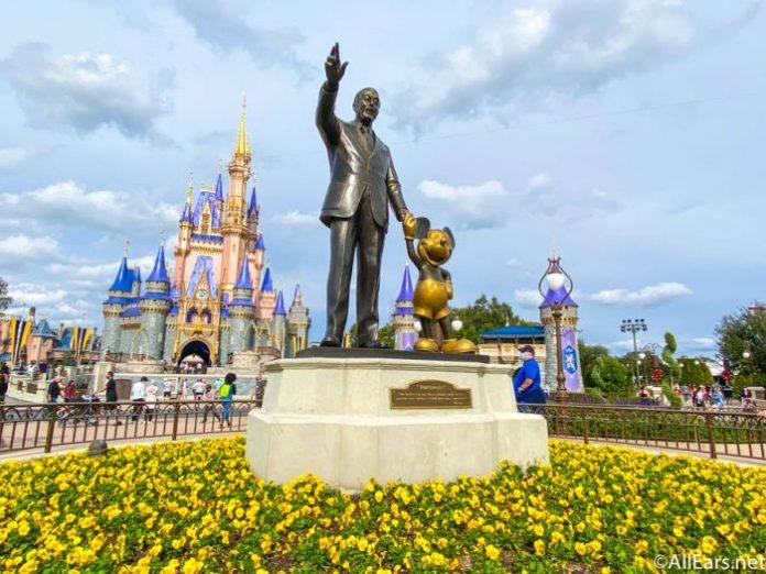 Entrada do parque Magic Kingdom em Orlando, Flórida (Foto: Flickr)