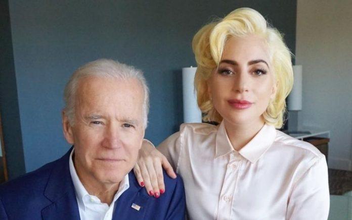 Presidente eleito Joe Biden e Lady Gaga (Foto: Flickr)