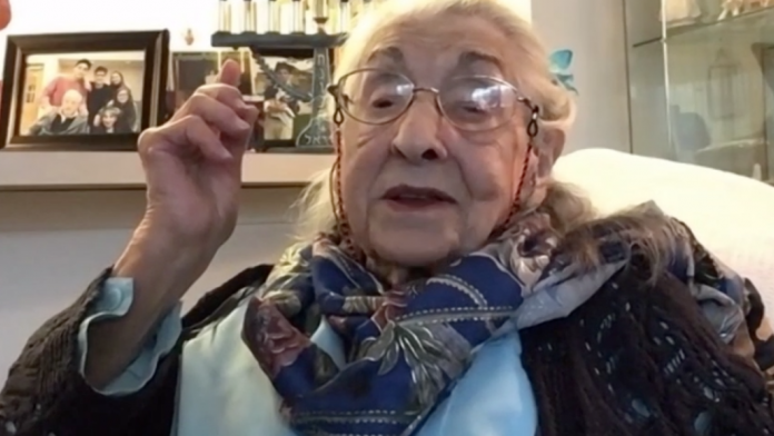 Mathilda Kolt fará 107 anos no dia 10 de fevereiro (Foto: Joe Pagonakis)