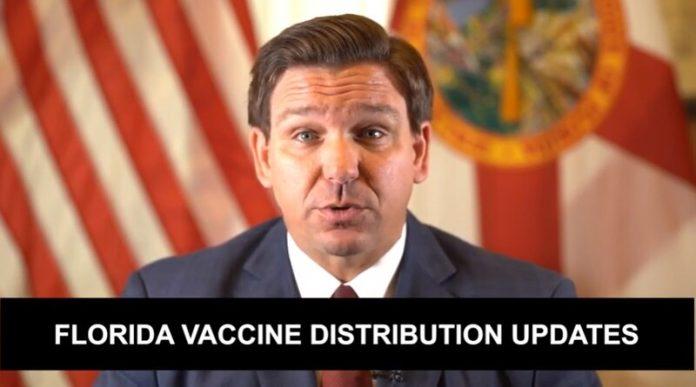 Segundo o governador 223 mil idosos já foram imunizados em todo o estado (foto: Twitter)