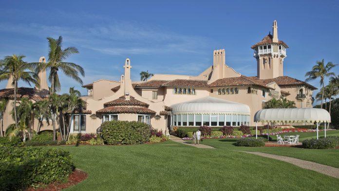 Após deixar a Casa Branca, Trump mudou-se para o Club Mar-a- Largo em West Palm Beach, Flórida (foto: flickr)