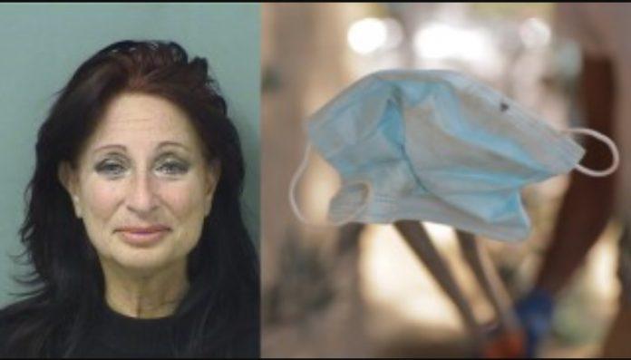 Cindy Falco-DiCorrado de 61 anos foi presa por