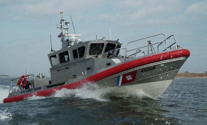 O navio de resgate