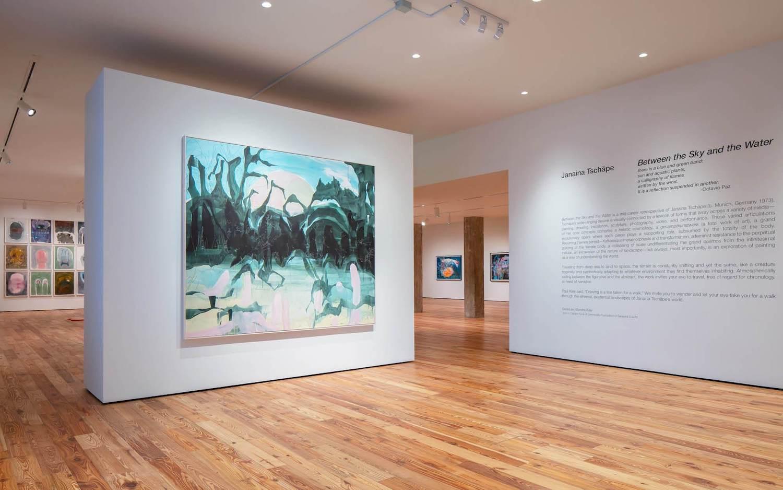 Exposição de Janaína Tschäpe no Museu de Arte de Sarasota, Flórida (Foto: Divulgação)
