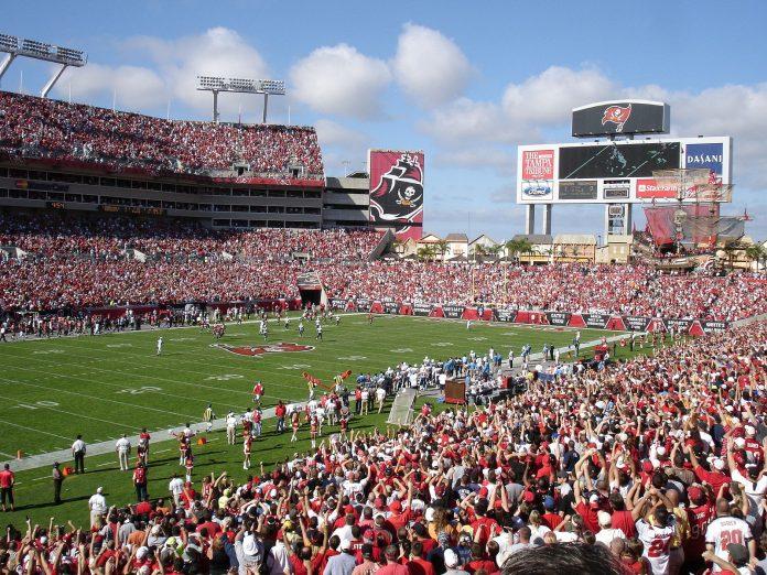 Raymond James Stadium, em Tampa, em foto de 2019 (crédito: wikimedia commons)