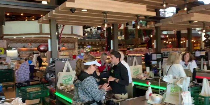 Oakes Farms Seed to Table Market, em Naples, Flórida (foto: reprodução NBC News)