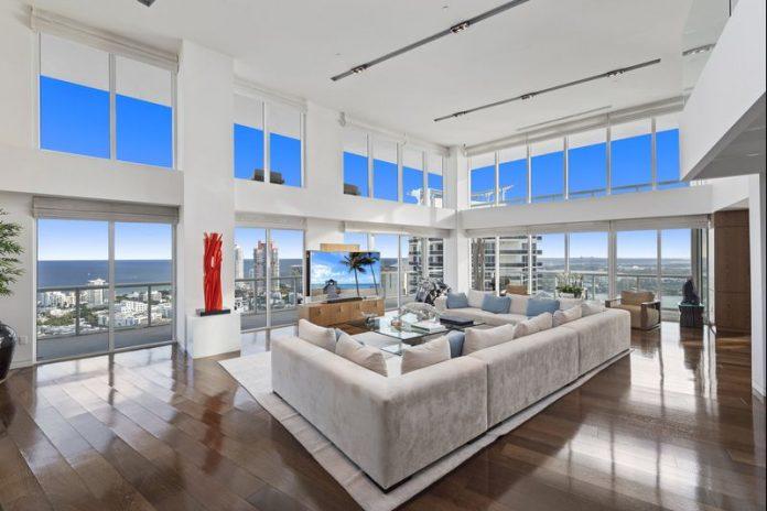 Cobertura de luxo em South Beach (Foto: Divulgação)