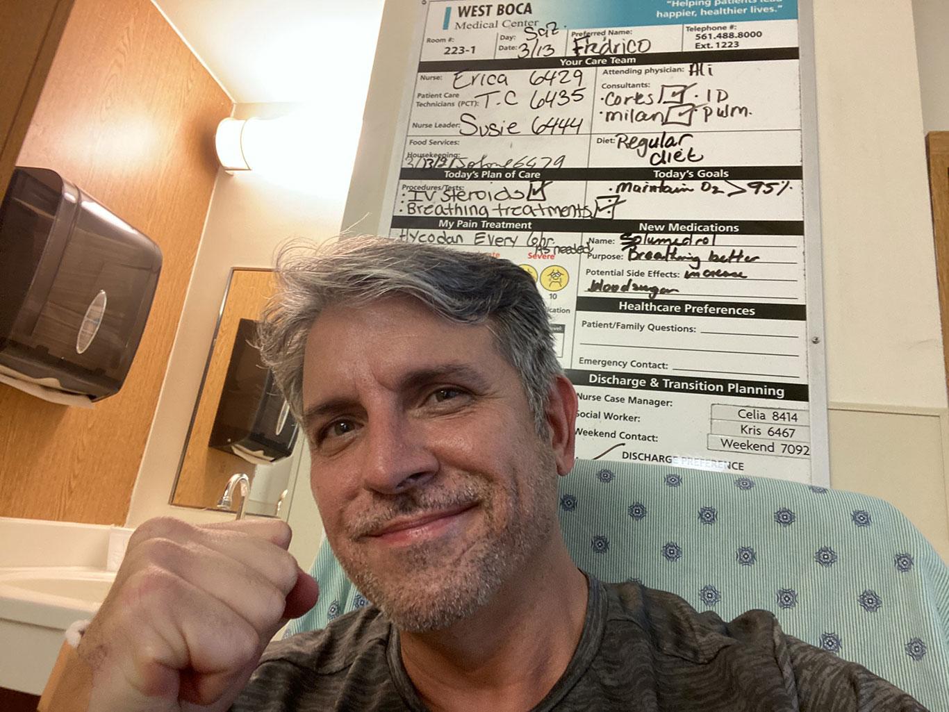 Fred Martins, recuperado e pronto para novos desafios à frente da VER (Foto: Facebook)