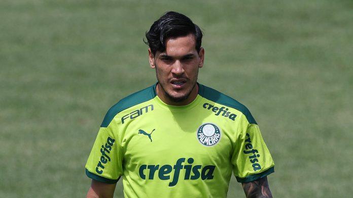 O zagueiraço palmeirense Gustavo Gomez foi um dos responsáveis pela perda do título da Recopa Sul-Americana (Foto: Cesar Grecco/Palmeiras)