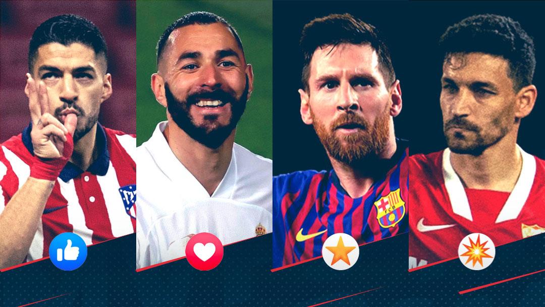 Disputa acirrada pelo título da La Liga torna o campeonato espanhol um dos mais emocionantes da Europa (Foto: LaLiga)