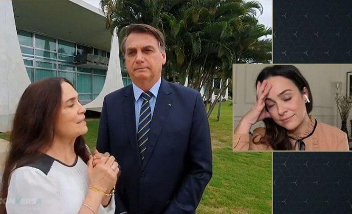Regina Duarte teve participação relâmpago no governo Bolsonaro (Foto: Reprodução TV Globo)