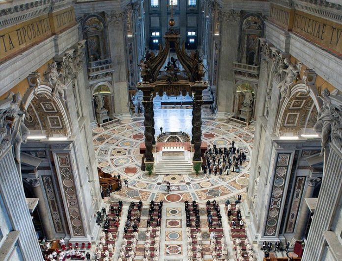 Basílica de São Pedro (Foto: Vatican Press)