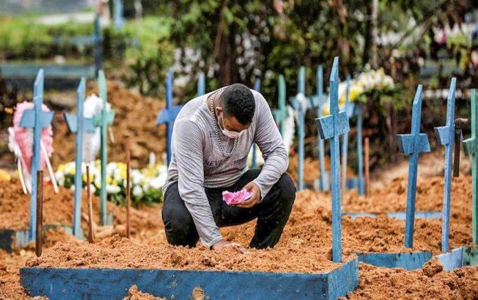Pior mês até agora, foi março, com 66,8 mil mortes (foto: SECOM-AM)