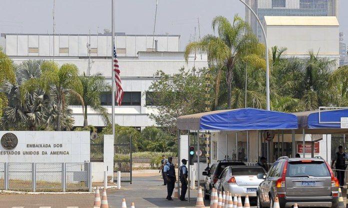 Embaixada dos Estados Unidos (Foto: Marcello Casal Jr./Agência Brasil)