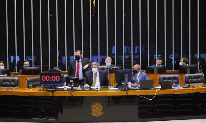 Votação do projeto de lei PL 5595/20 na Câmara de Deputados (Foto: Pablo Valadares/Câmara de Deputados)