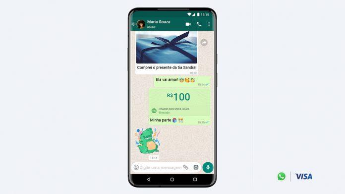 Transferência por WhatsApp ganha força no mercado, segundo pesquisa encomendada pela Visa (Foto: cw.visa.com)