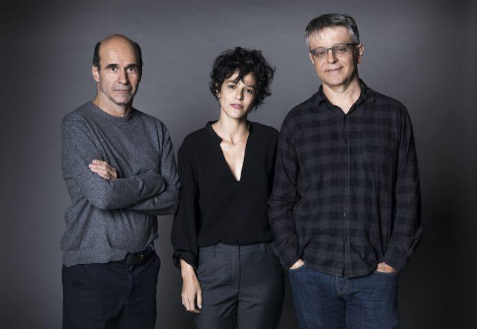George Moura, Luísa Lima e Sergio Goldenberg (Foto: Globo/Divulgação)