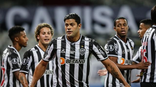 Hulk comandou a goleada do Atlético-MG em Belo Horizonte (Foto: Conmebol/divulgação)
