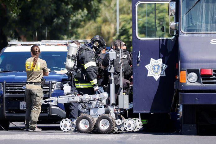 Massacre em San Jose, Califórnia (Foto: REUTERS/Peter DaSilva)